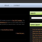 Artificial. Шаблоны темного дизайна сайтов.