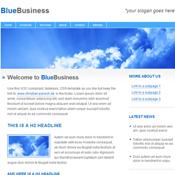 BlueBusiness. Шаблоны сайтов.