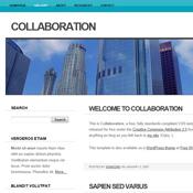 Collaboration. Шаблоны сайтов.