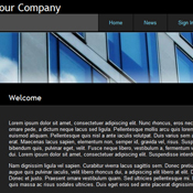 Dark Theme. Шаблоны темного дизайна сайтов.