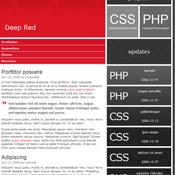 DeepRed. Шаблоны темного дизайна сайтов.