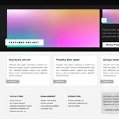 Expanding Portfolio. Шаблоны сайтов.