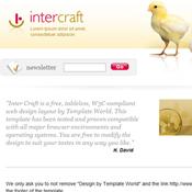 Inter Craft. Шаблоны сайтов.