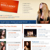 Models Agency. Скачать шаблоны бесплатно.