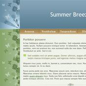 Summer Breeze. Скачать шаблоны бесплатно.