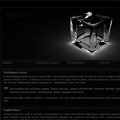 Blackbox. Шаблоны темного дизайна сайтов.