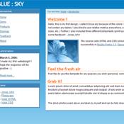 BLUE:SKY. Шаблоны сайтов.